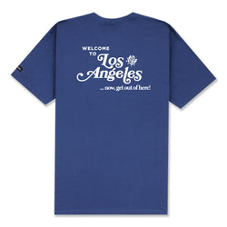 WELCOME T-SHIRT - PATROL BLUE
