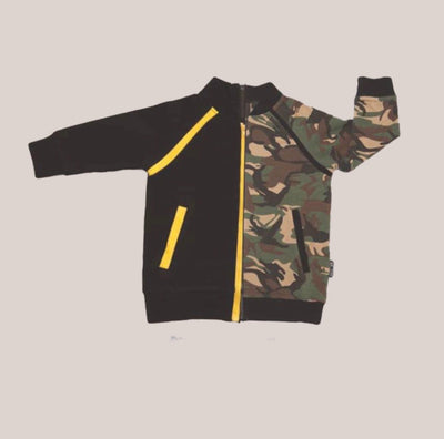 Convertible Sports Luxe Jacket - Camo