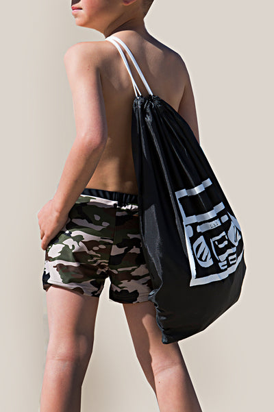 Lil' Swimming Trunks - Camo