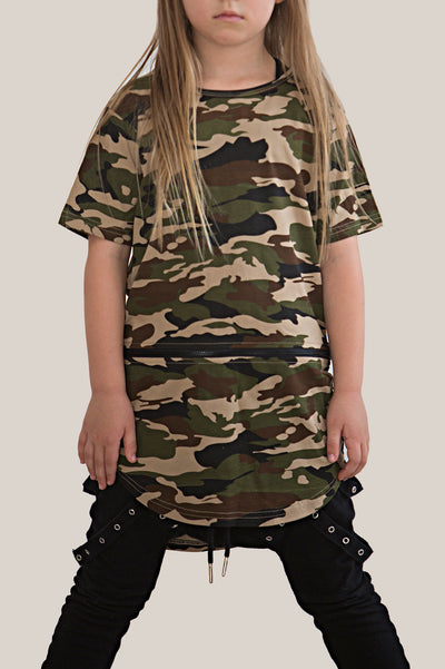 Zippy conversion tee - Camo