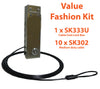 Cable Coat Lock Box Value Fashion Kit - SK333T - (1 x SK333U, 10 x SK302)