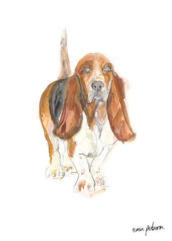BASSETHOUND GEORGE |  A3 OPEN EDITIONS