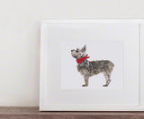 GUS & ABBY - SMALL TERRIER PRINT