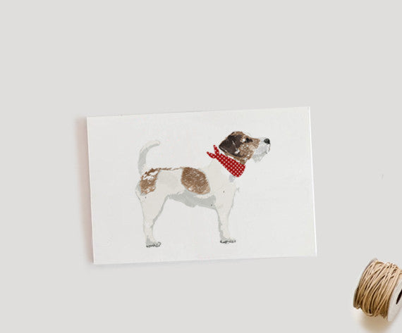 GUS & ABBY - JACK RUSSELL TERRIER PRINT
