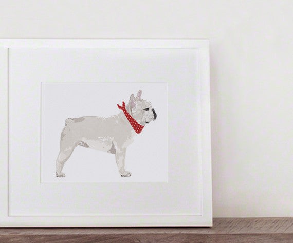 GUS & ABBY - FRENCH BULLDOG PRINT