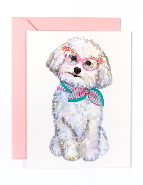 GOLDEN FOX GOODS - BICHON CARD