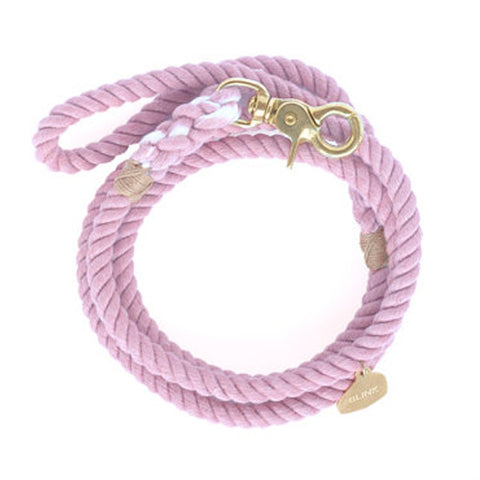 ROPE DOG LEASH / LILAC