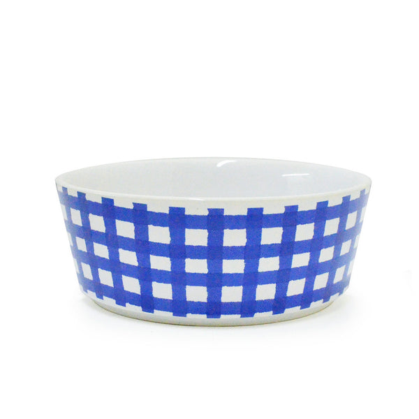 GINGHAM CHECK BOWL / NAVY
