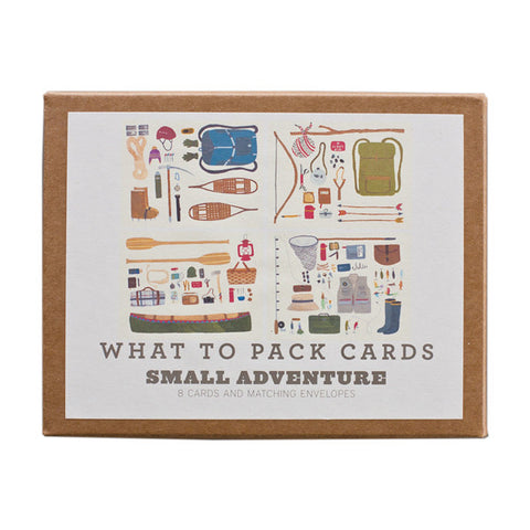 ADVENTURE / WHAT TO PACK CARD SET