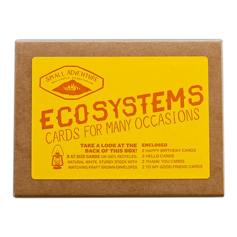 ECOSYSTEMS MULTI-PURPOSE CARD SET