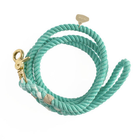 ROPE DOG LEASH / MINT