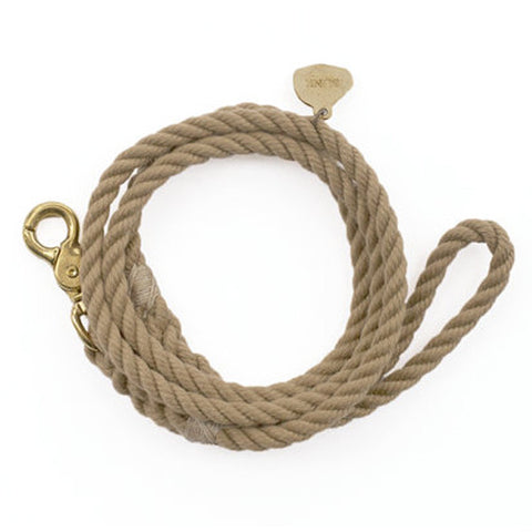 ROPE DOG LEASH / LIGHT VINTAGE