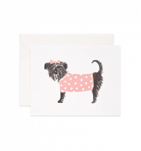 RIFLE PAPER CO - AFFENPINSCHER CARD