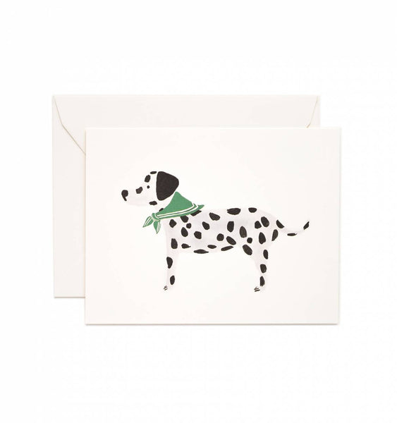 RIFLE PAPER CO - DALMATIAN CARD