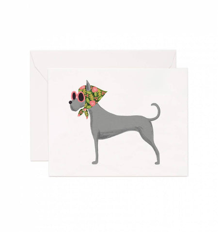 RIFLE PAPER CO - GREAT DANE CARD