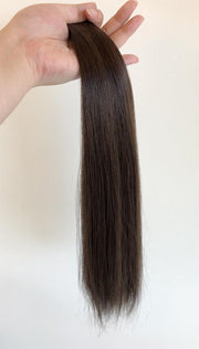 AVERA #2 Dark Brown Tape-In Hair Extension