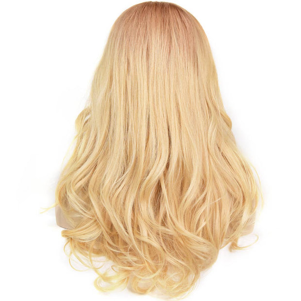 AVERA Ombre Blonde Lace Front Wig