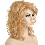 AVERA Dirty Blonde Loose Wavy Wig With Side Bang