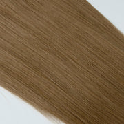 AVERA #8 Light Brown Clip-In Human Hair Extension