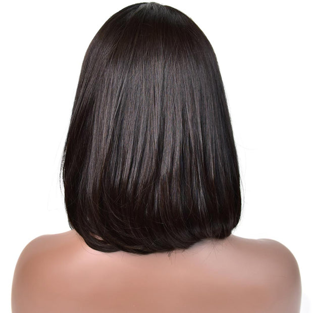 Bob Lace Front Wig Silky Straight