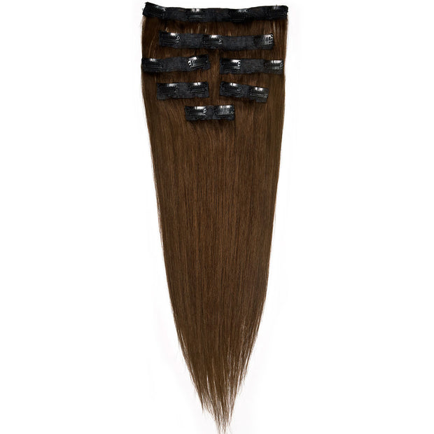 AVERA #4 Brown Clip-In Hair Extension