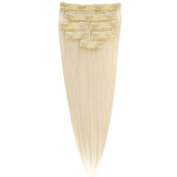 AVERA #60 Ash Blonde Clip-In Hair Extension
