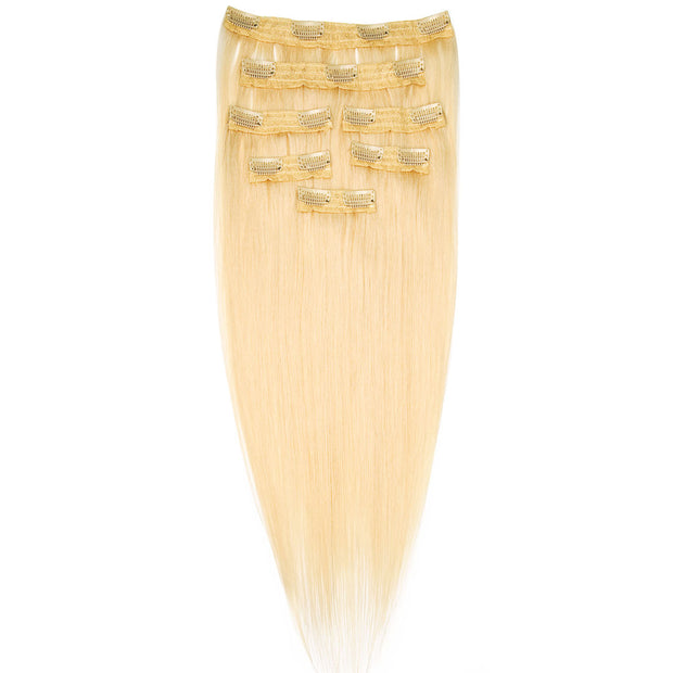 AVERA #613 Platinum Blonde Clip-In Hair Extension