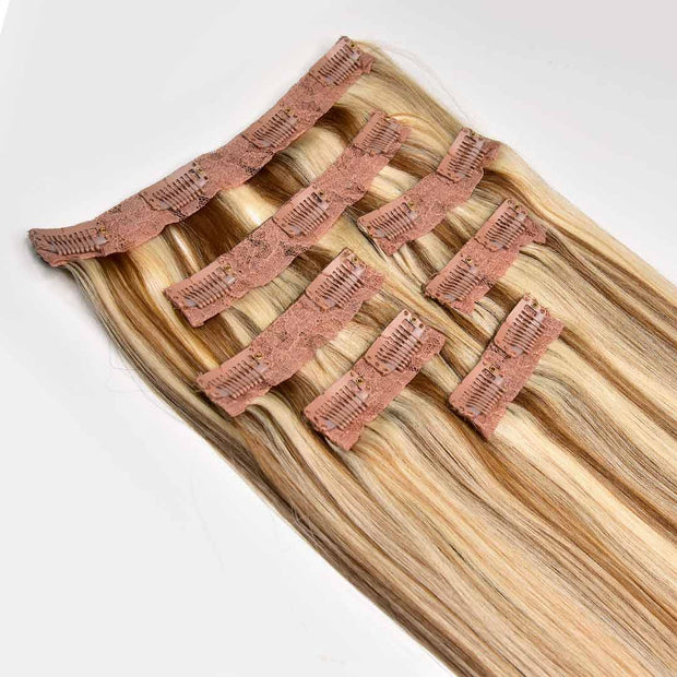 AVERA #8/613 Mixed Blonde Clip-In Hair Extension