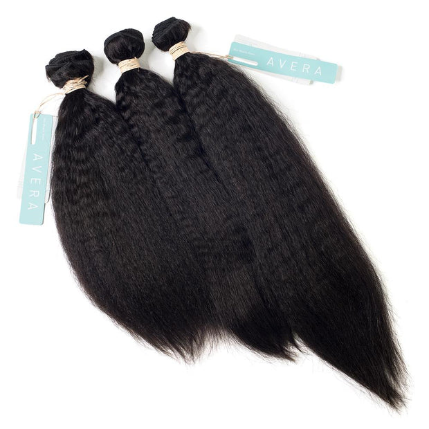 AVERA Virgin Hair Kinky Straight