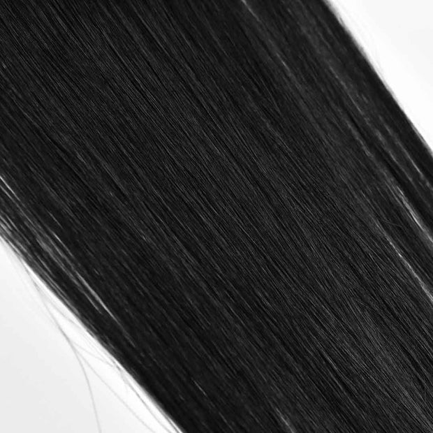 AVERA #1B Black Tape-In Hair Extension