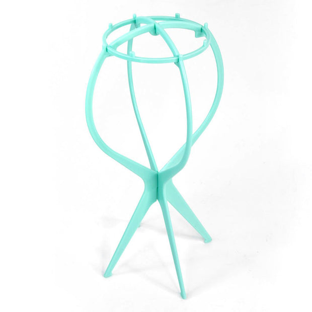 Teal Wig Stand