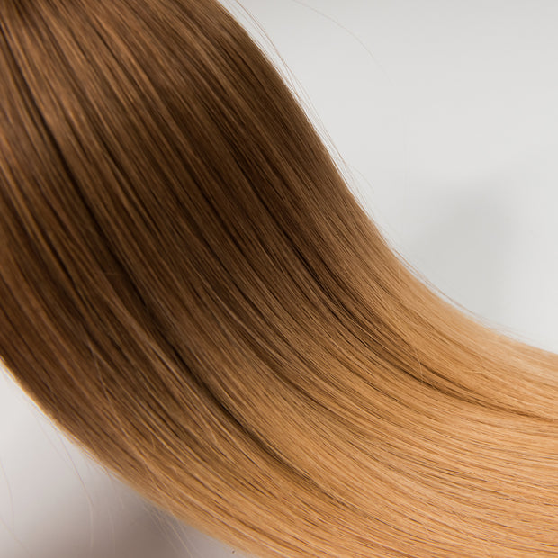 AVERA #30/14 Brown Blonde Ombre Clip-In Hair Extension