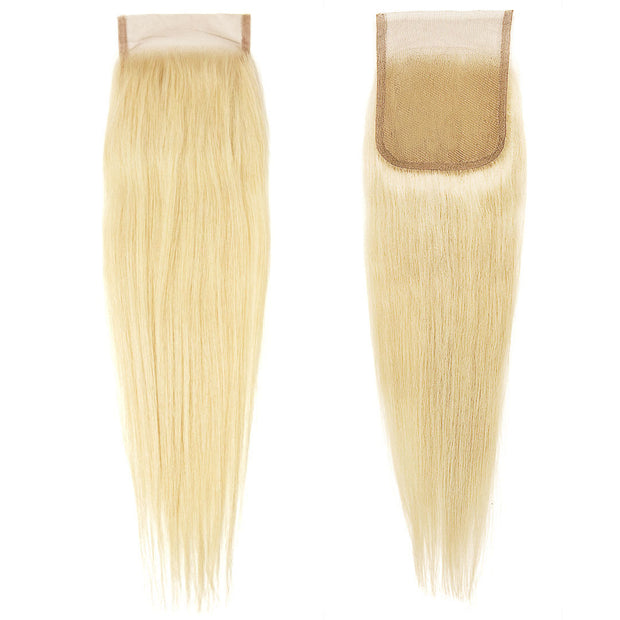 AVERA Swiss Lace Virgin Hair Platinum Blonde Closure