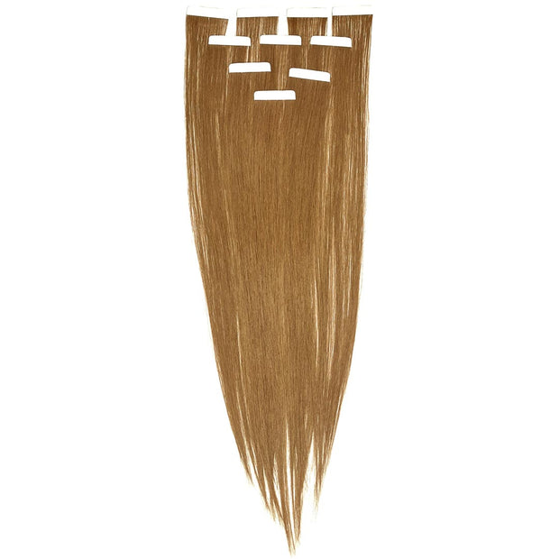 AVERA #8 Light Brown Tape-In Hair Extension