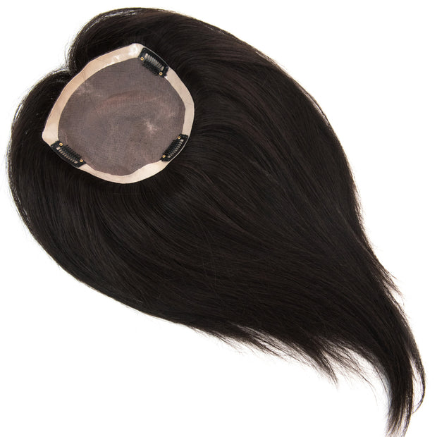 "AVERA Virgin Hair Topper 5""x5"", 12"""