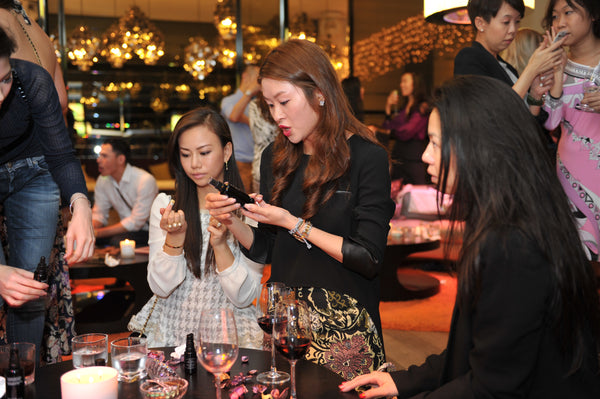 GSB soft launch event - testing organic facial oils