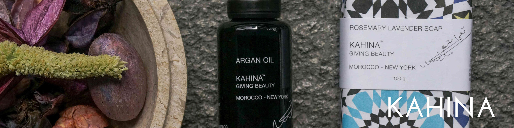 Kahina Giving Beauty: Organic and Natural Skin Care at Gourmet Skin Bar