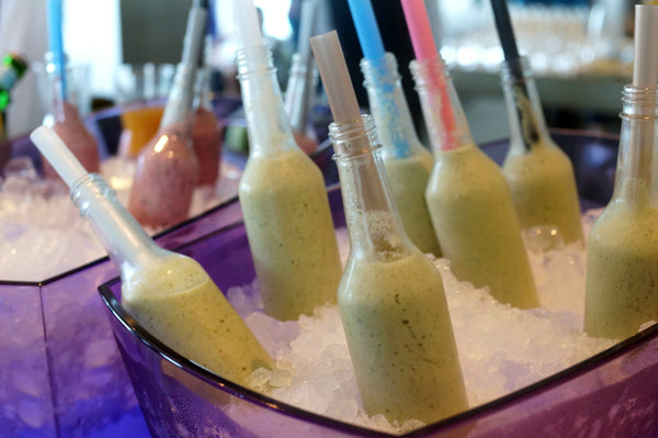 Healthy drinks at Tara Stiles W Hotel Hong Kong event