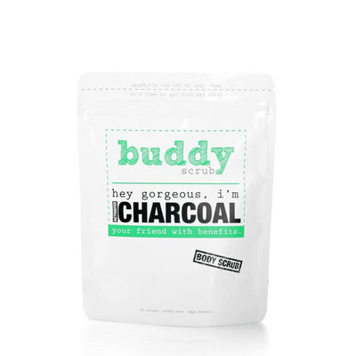Activated Charcoal Body Scrub-Buddy Scrub-Gourmet Skin Bar