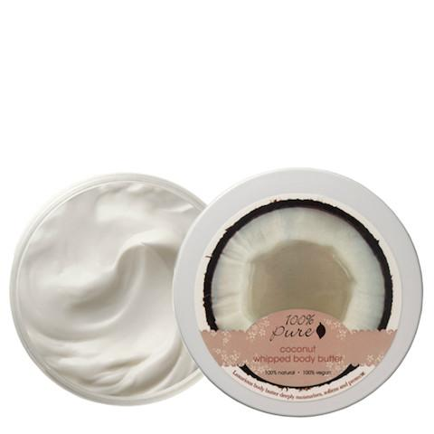 Coconut Whipped Body Butter-100% Pure-Gourmet Skin Bar
