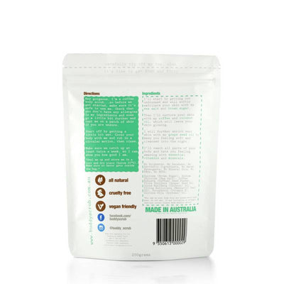 Coffee Body Scrub-Buddy Scrub-Gourmet Skin Bar
