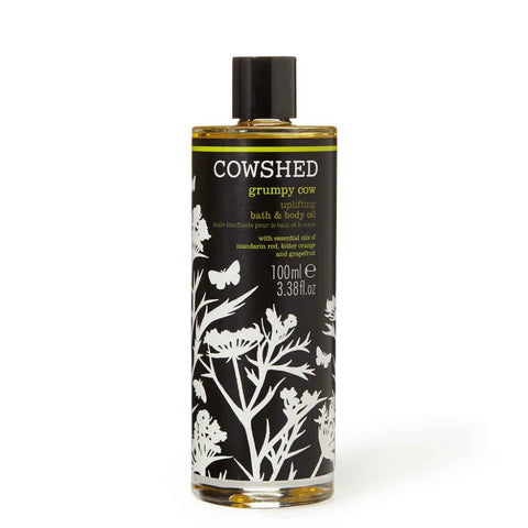 Grumpy Cow Uplifting Bath & Body Oil-Cowshed-Gourmet Skin Bar