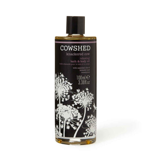 Knackered Cow Relaxing Bath & Body Oil-Cowshed-Gourmet Skin Bar
