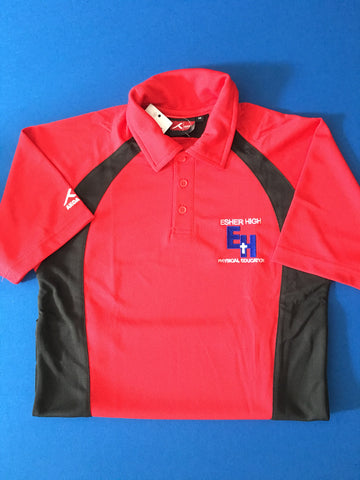 Esher High PE Polo Shirt - New PE Kit