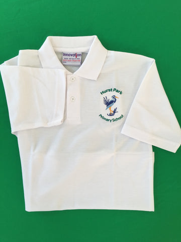 Hurst Park Summer Polo Shirt - New Logo