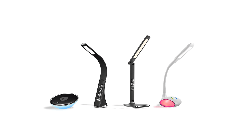 New products: LED desk lamps