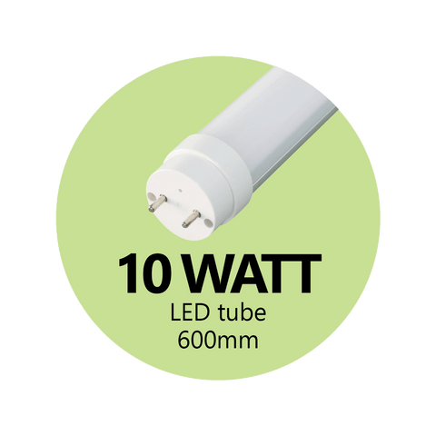 10 Watt LED Tube 600mm