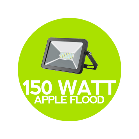 150 Watt Apple-Style Flood Light - Outdoor Flood Lights
