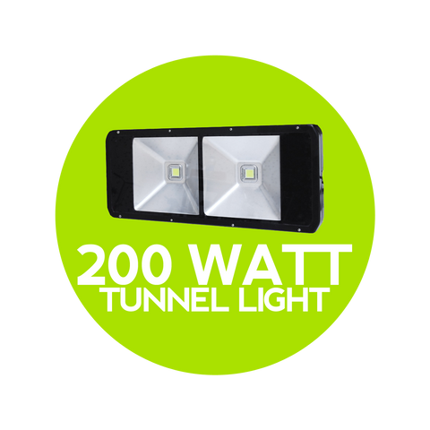 200 Watt LED Tunnel Light - Cafe Lighting Australia