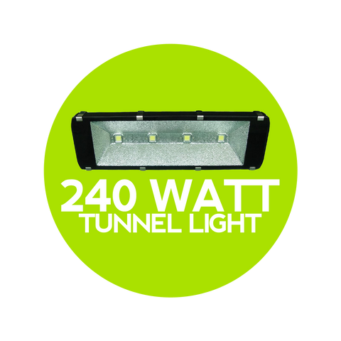 240 Watt LED Tunnel Light